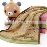 Baby baths Cute towel Kids Cartoon printing Children Hand towels