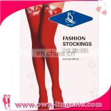 Wholesale Long Over the Knee Stocking with Lace Trim Assorted