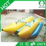 HI new inflatable banana boat, giant water banana boat, flying fish boat