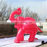 Inflatable giant elephant inflatable cartoon balloon inflatable red elephant sam yu 9201
