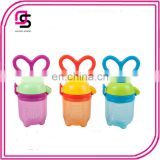 2017 Hot selling baby pacifier fresh food feeder for fruit vegetable