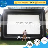 Golden supplier projector screen inflatable advertising for kids and adults