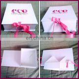 Luxury upscale boxes for cloting customized garment package gift box for packing