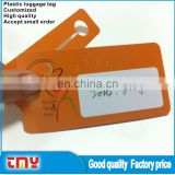 Hot Sale Competitive Price Wholesale Sublimation Plastic Luggage Tag Manufacturer From China
