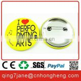 Custom made round button badge pin color printing