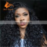 Wholesale Natural Color Full Lace Wigs Kinky Curly Brazilian Braided Human Hair Wigs