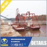 river sand dredging and maintance bucket chain gold dredger