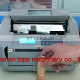 Wholesale Commercial Usage Practical Coin Paper Roll Wrapping Machine