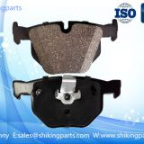 D1061 automobile brake pad for BMW auto car, ceramic brake lining,good quality disc brake pad.