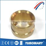 Tubomart low price spanish style brass union copper ring sliding fittings for pex pipe