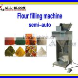 Semi-auto flour/milk powder/protein powder/coffee powder dry powder measuring and filling machine