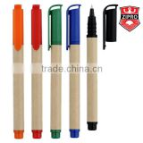Bio resource Chinese Recycled Kraft Paper Pen, Promotional Paper Pen