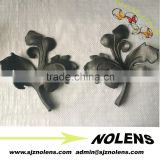 Metal Craft Leaves For Wrought Iron Panels,Grills Decoration