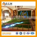 3D rendering house model maker ,architecture house scale model