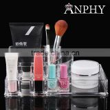 C92 ANPHY Clear Makeup Organizer Acrylic Assorted Household Jewelry Accessory Finding Box