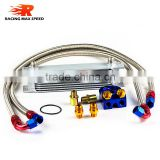 wholesale universal racing car row 13 transmission oil cooler