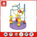 my alibaba purple base MDF base teawood beads EN71 authentication secure little kids hippo animal cheap roller coaster for sale