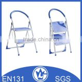 Portable Aluminium Ladder with Rubber Cover Step, Safety Handrail GS and EN131 approval