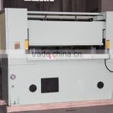 zhicheng 606-30T supply CNC EPE foam sheet die cutting press fabric swatch cutters machine