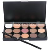 Natural 15 Colors Eye shadow Comestic Long Lasting Makeup Eyeshadow Palette For Women 3 patterns For Choose