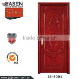 The latest modern design wooden doors for villa entry door finishing hardwood door for exterior used                                                                                                         Supplier's Choice