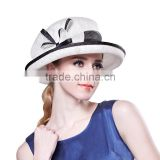custom Philippines party hats sinamay church hats women wedding hat making manufacturers