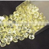 AAA Beautiful Natural Green Gold Lemon Topaz Cabs 6X8mm Loose Gemstone Beads Bead Cabochon Beads