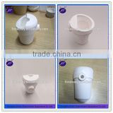 Horizontal Vertical Quartz Crucible / dental Ceramic crucible for Centrifugal casting machine