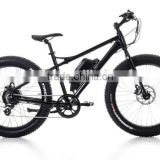 26 Inch Good Quality 7 Speed Aluminum Hub Drive Electric Fat Mountain Bike