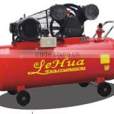 300L 4KW 5.5HP 90mm*2 cylinder Portable Piston Air Compressor with V type air compressor pump