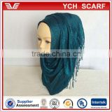Low MOQ wholesale solid color african muslim women scarf                                                                         Quality Choice