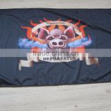 Big manufacturer Advertising Knitted flag poles for sale