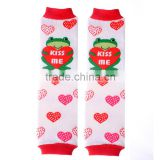 kids icing baby leggings crochet knitted red heart wholesale baby leg warmers