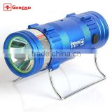 GOREAD F1 rechargeable dual blue white light with fish bait lights LED fishing float light