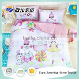 Children Kids Baby Bedding Set Of 4pcs For Girls Bed Sheet Set