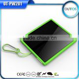 Wholesale Hot New Products 12000mAh solar charger Full Capacity Factory Price Solar Power Bank