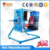 Guangzhou Entertainment products Blue simulator flying game machine for sale flight simulator game machine                                                                                                         Supplier's Choice
