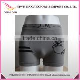 Polyester Elastic Adult Age Group Men's Boxers Briefs Animal Picture and Stripes Printed Wholesale Popular Style Boy Underwear