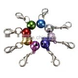 High Quality!!! Colorful Puppy Pet Dog Cat Animal Collar Clothes Charming Lobster Clasp Bell Accessories