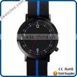 interchangable nylon watch unisex watches stainless steel watch quartz watch waterproof nato nylon strap watch