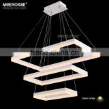 Art Decor LED Lustre Modern LED Hanging Lighting in Rectangle MD5062-3R                                                                         Quality Choice