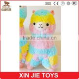 nice design colourful alpaca plush toy good quality soft alpaca toy                                                                         Quality Choice
