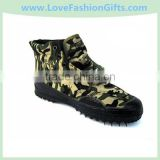 Liberation shoes safety shoes wear-resistant slip-resistant work shoes military training shoes Ospop Camouflage Shoes