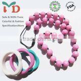 China Manufacturer BPA Free Food Grade Silicone Beads and Jewelry Making