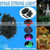 Solar LED Xmas String Light,60 led,100 led,200 led,300 led,400 led,500 led,CE & RoHS