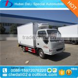 refrigerator cooling van truck , carrier units refrigerator truck 2-3Ton , refrigerator box truck