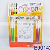 Educational toy intelligent toy fashion DIY crayons kids drawing book