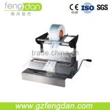 Manufactuer High Quality Dental Supply Tray Sealing machine with Bi-blade Cutting Device