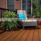 Garden Waterproof Antiseptic Brush / Embossed WPC Composites Decking Flooring with Wood Like Finish Matt Finish