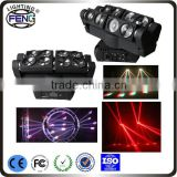 8 beam head dj studio lighting kit limitless rotation projection-based special effect spide light